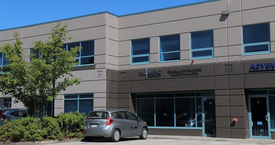 Olympic Projects office in Port Coquitlam