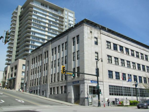 New Westminster police station office renovation by Olympic Projects