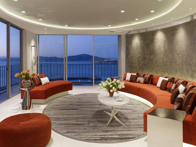 Olympic Projects - high end residential livingroom